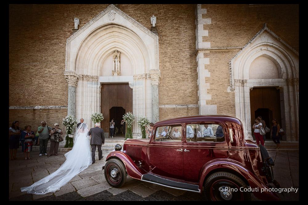 matrimonio con auto d'epoca
