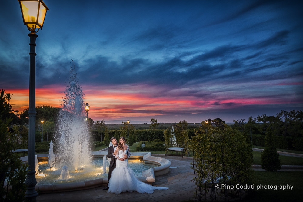 Matrimonio al Tramonto a Villa Carafa