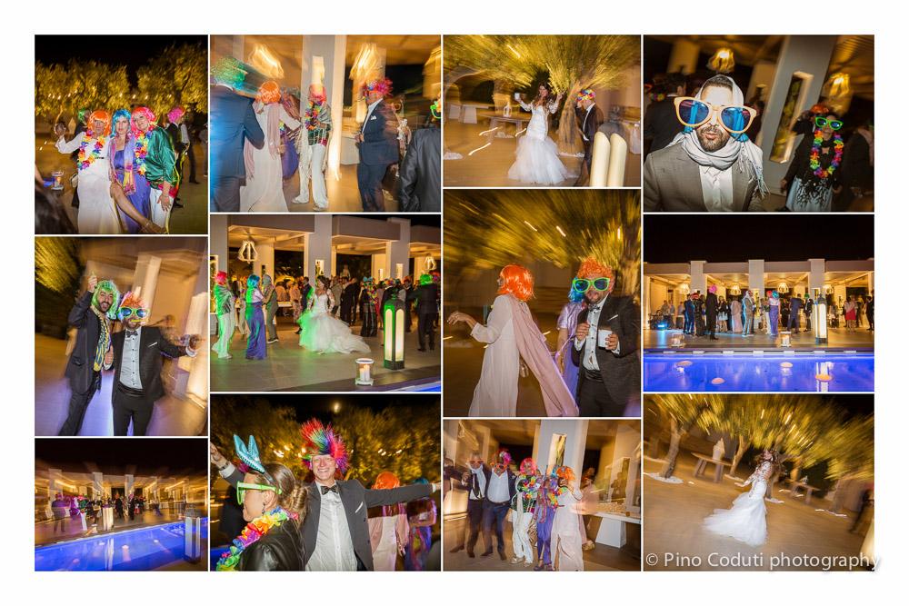 Fotografie della festa a Villa Carafa