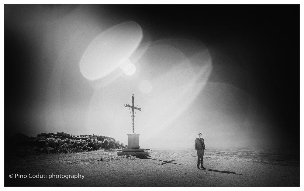 La croce al Belvedere Rignano Garganico