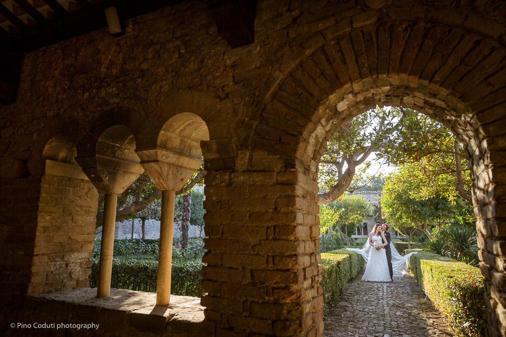 Foto nella abbazia di San Giovanni