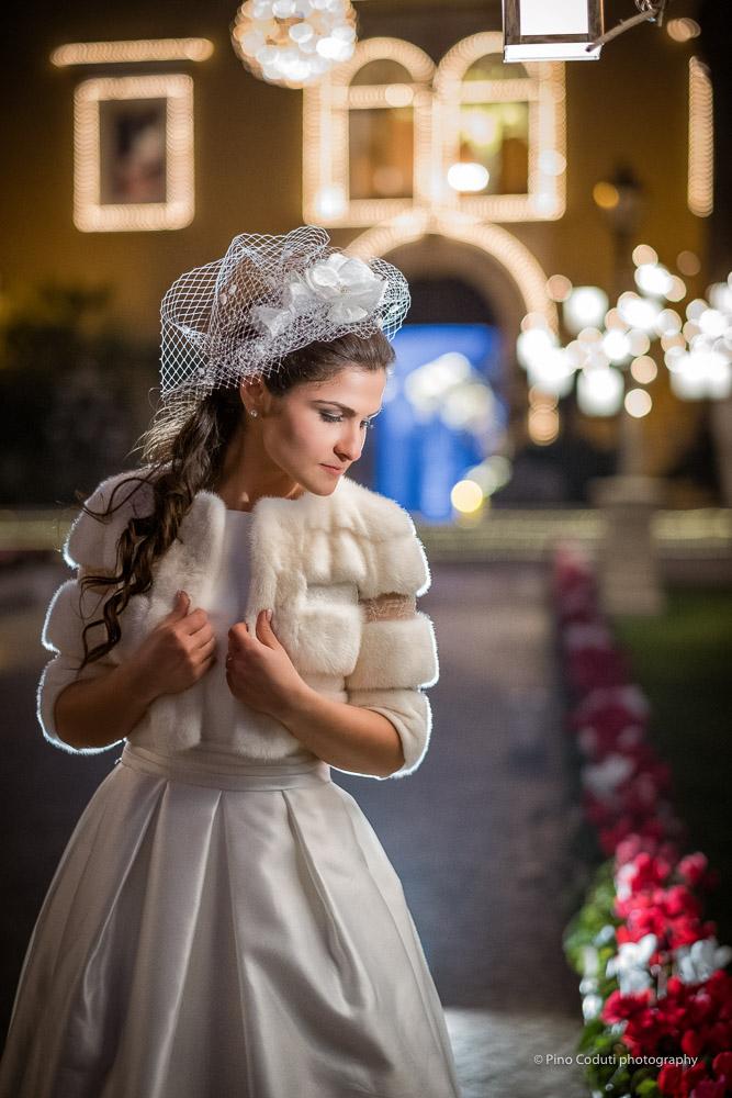 Fotografie di matrimonio Natale a Villa Carafa