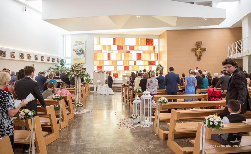 Cerimonia in chiesa