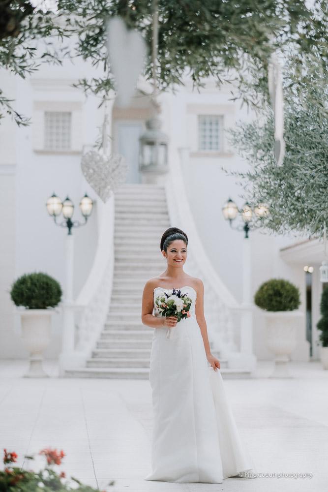 Abiti Da Sposa Boutique 70 Foggia.Matrimonio A Tenimento San Giuseppe Erminia Antonio Pino