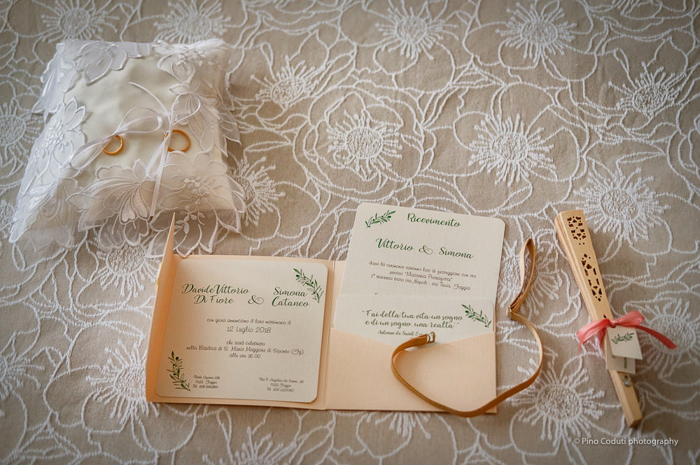 Elegante wedding stationery