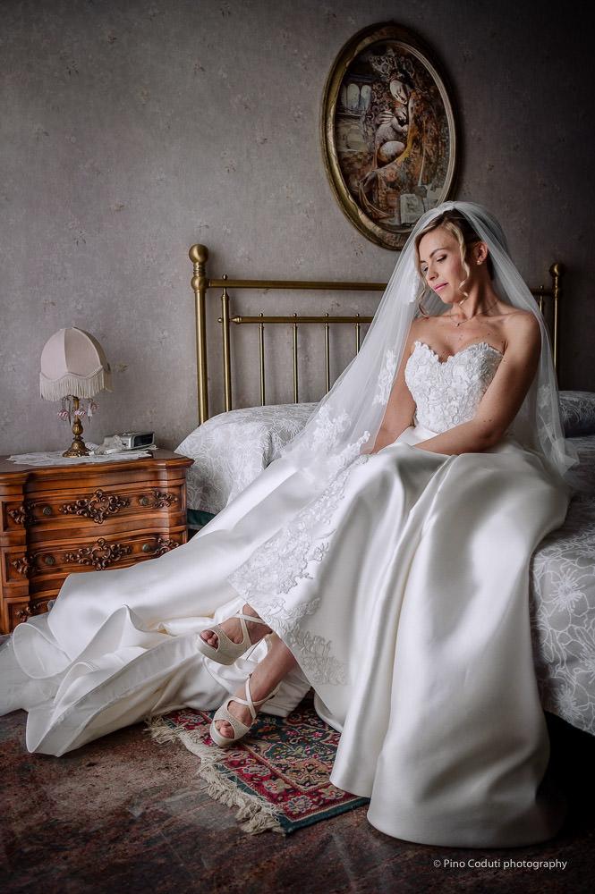 Pino Coduti fotografa Abito sposa Atelier Emozioni Foggia