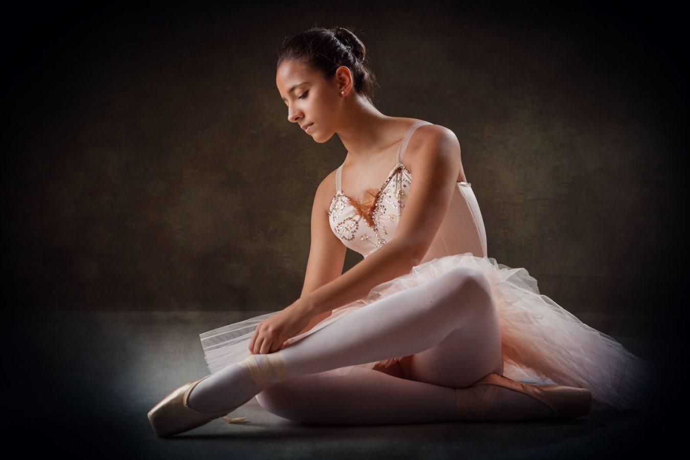 Ritratto di ballerina fotografia di Pino Coduti