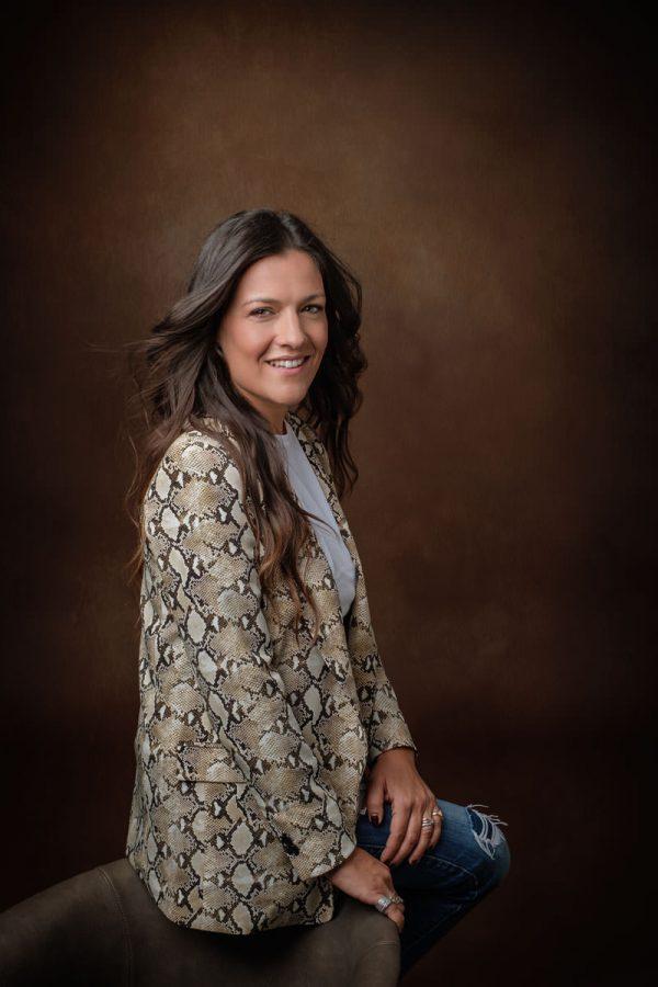 Business Portrait per Ines Pesce fotografata da Pino Coduti