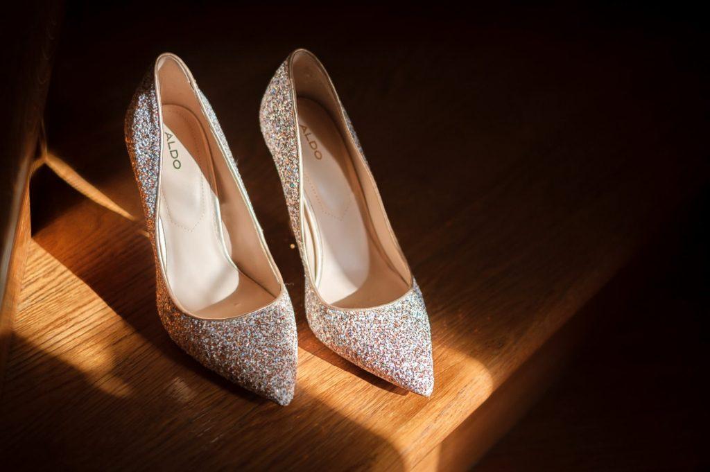 Scarpe della sposa Fotografo di matrimonio a Lucera
