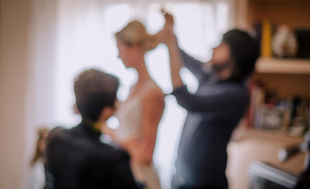 Pettinatura sposa di Fabio Ziccardi