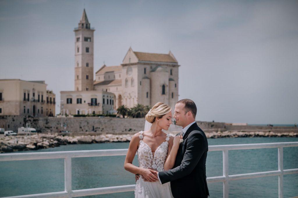 Fotografie di sposi a Trani