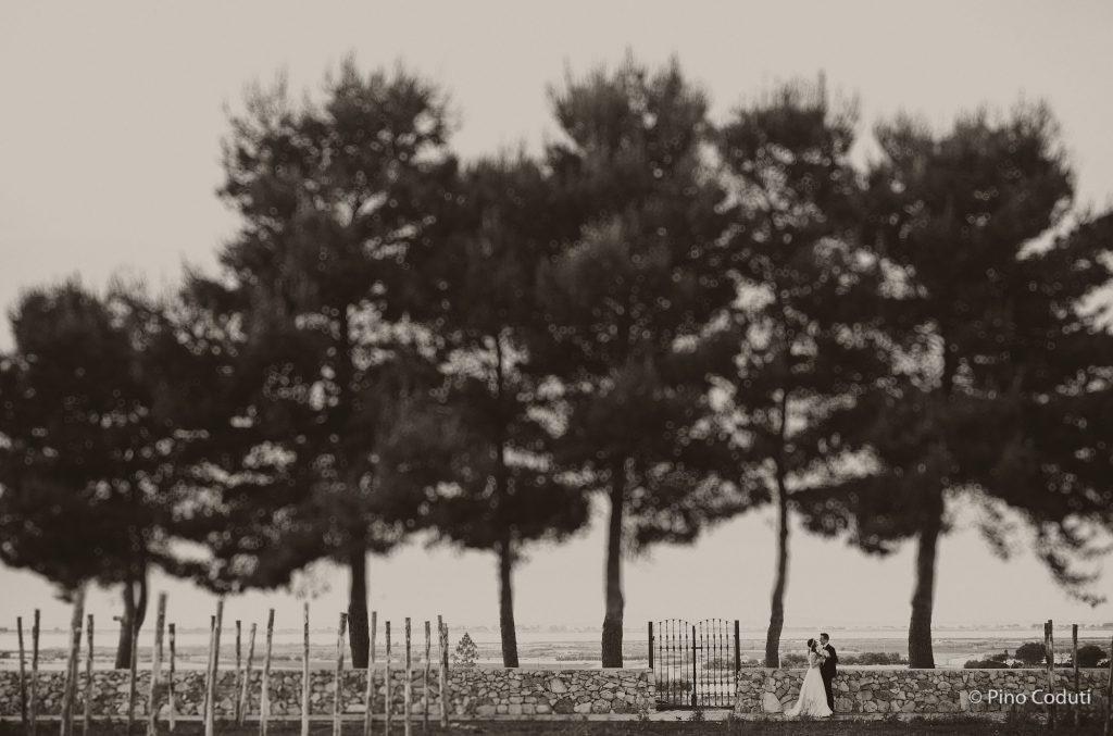 sposi con matrimonio vista isole tremiti