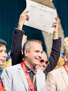 Medaglia d'oro internazionale per Pino Coduti