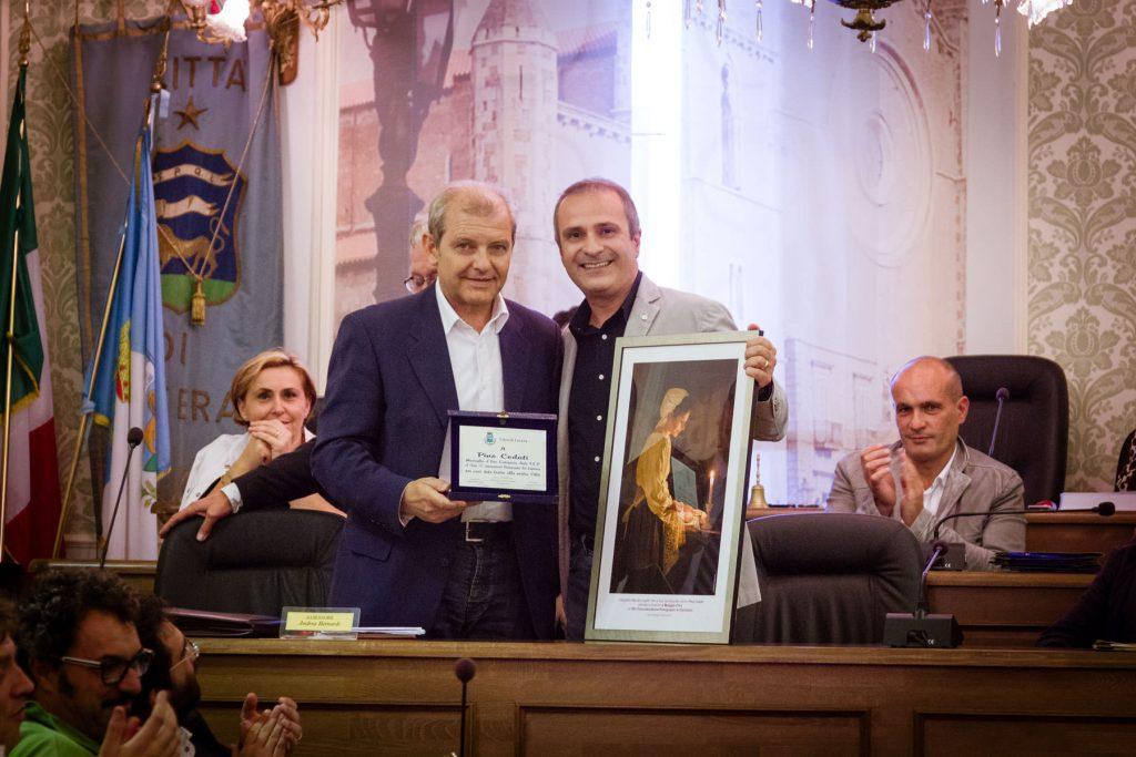 Città di Lucera Medaglia d'oro internazionale per Pino Coduti